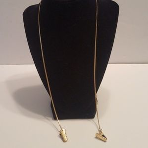 Jewelry - Gold Tone Eyeglasses Holder Or Pocket Watch Chain
